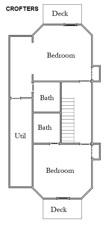 Floor Plan for Room 8 Blue Heron