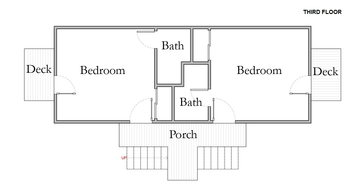 Floor Plan for Room 10 Sand Dollar